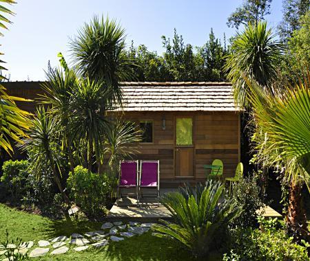 Cabane en chambre d 39 h tes biarritz bidart bidart for Atelier du jardin d acclimatation