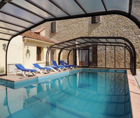 Gite 15 personnes avec piscine couverte et pouzolles - Gite avec piscine couverte normandie ...