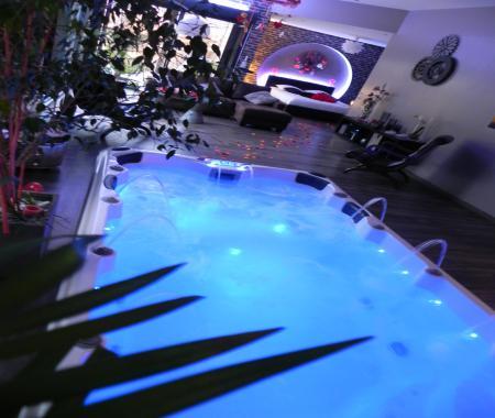 Chambre avec jacuzzi privatif dans gite hersin coupigny - Location jacuzzi privatif dans chambre ...