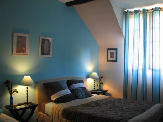 Chambre Turquoise Et Marron. Perfect With Chambre Turquoise Et ...