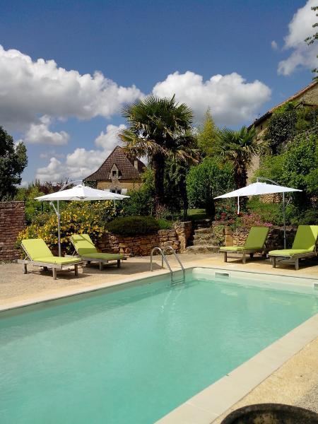 Gite les palmiers avec piscine dans le lot milhac - Gite dans les landes avec piscine ...