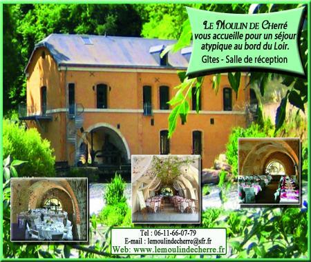Gite Salle De Reception Le Moulin De Cherre De A Aubige Racan