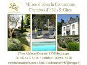 Location gîte, chambres d'hotes Chambre d'hôtes - Puy du Fou - vendée - piscine chauffée dans le département Vendée 85