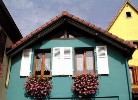 G te la maison bleue en alsace bergheim bergheim - Location maison haut rhin particulier ...