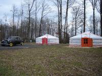 Location gîte, chambres d'hotes Présentation des yourtes du bois marie dans le département Oise 60