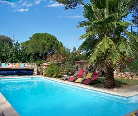 CHAMBRE Du0027HÔTES SOUS LES PINS Avec Piscine   Chambres Du0027hotes à NAGES ET  SOLORGUES, Languedoc Roussillon, ...