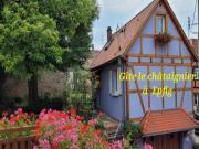 Location gîte, chambres d'hotes Gîte au calme au centre Alsace le châtaignier dans le département Bas Rhin 67