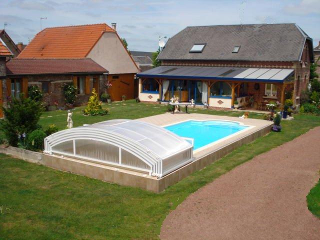 Chez Jocelyne Et Claudy Piscine Pres Saint A Holnon