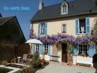 Location gîte, chambres d'hotes LES VOLETS BLEUS à 5 minutes du centre historique de Bayeux et des plages du Débarquement dans le département Calvados 14