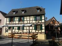 Location gîte, chambres d'hotes Gite du pressoir : maison à colombage dans vignoble dans le département Haut Rhin 68