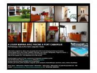 Location gîte, chambres d'hotes A louer MARINA à Port Camargue bord de mer, vue magnifique sur Port Camargue dans le département Hérault 34
