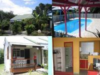 Location gîte, chambres d'hotes CANNELLE ANTILLES, 4 hebergements avec piscine près des plages en guadeloupe dans le département Guadeloupe 971