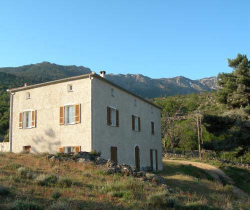 Casa vanella dans la vall e du niolo dans le for Chambre d agriculture haute corse