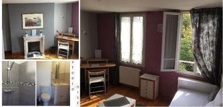 Agréable Studio Meublé Saisonnier à Rieux