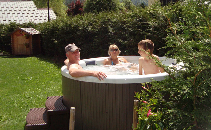 La tani re de groumff b b chamonix spa et for Les jardins de la villa et spa