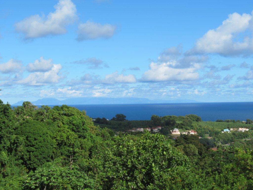Chambre d39hotes vue panoramique de la terrasse a le for Martinique ducos chambre d hotes