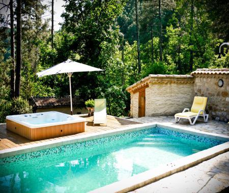Maison d 39 h tes en pleine nature en ard che banne - Chambre d hote ardeche avec piscine ...
