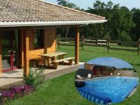 Location gîte, chambres d'hotes GITE et NATURE avec large piscine chauffée dans le département Loire Atlantique 44