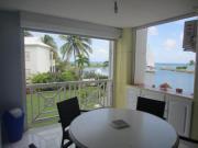 Location gîte, chambres d'hotes Appartement avec vue imprenable sur le lagon dans le département Guadeloupe 971