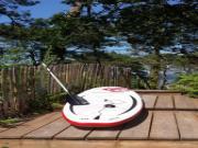 Location gîte, chambres d'hotes La cabane au bord du lac de Biscarrosse dans le département Landes 40