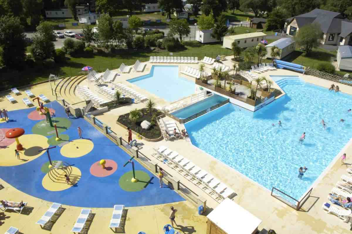 Mobilhome 8 personnes camping 4 piscine pont aven for Piscine sollies pont