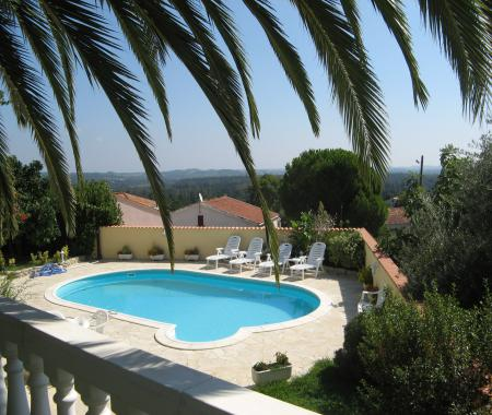 Location Villa De Charme Avec Piscine Prive En   Ghisonaccia