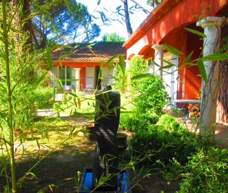 La bastide des pins maison d 39 h tes sous les pins castillon du gard - Chambre d hote castillon du gard ...