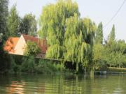 Location gîte, chambres d'hotes Gîte atypique accès barque, dans le parc naturel audomarois dans le département Pas de Calais 62