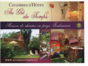 Location gîte, chambres d'hotes Au Gré Du Temps Chambres d'Hôtes et Roulotte à 700 m du canal du midi dans le département Haute garonne 31