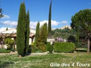 Location gîte, chambres d'hotes Gite les 4 Tours, au pied du Lubéron dans le département Vaucluse 84