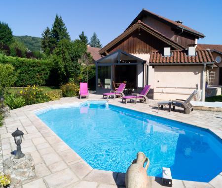 Gite de l 39 tang des chartreux piscine chauff e le pin for Piscine des chartreux