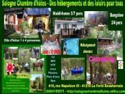 Location gîte, chambres d'hotes Emplacement de Camping pour tente, caravane ou camping car près de Lamotte-Beuvron et Chambord dans le département Loir et Cher 41