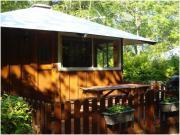 Location gîte, chambres d'hotes Location chalet avec sanitaire dans camping **** à 5 min de la mer dans le département Finistère 29