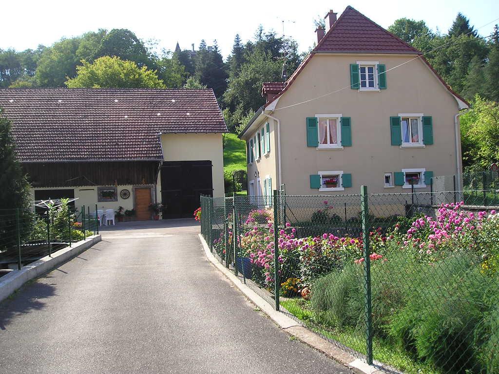 Belle maison independante au pied du vignoble montagne wattwiller - Location maison haut rhin particulier ...