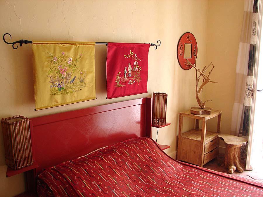 Chambres Chinoise en chambres d\'hôte à Sainte gemme moronval