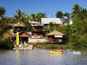 Location gîte, chambres d'hotes Lodges en bord de fleuve, séjour insolite dans une ambiance intimiste dans le département Guyane 973