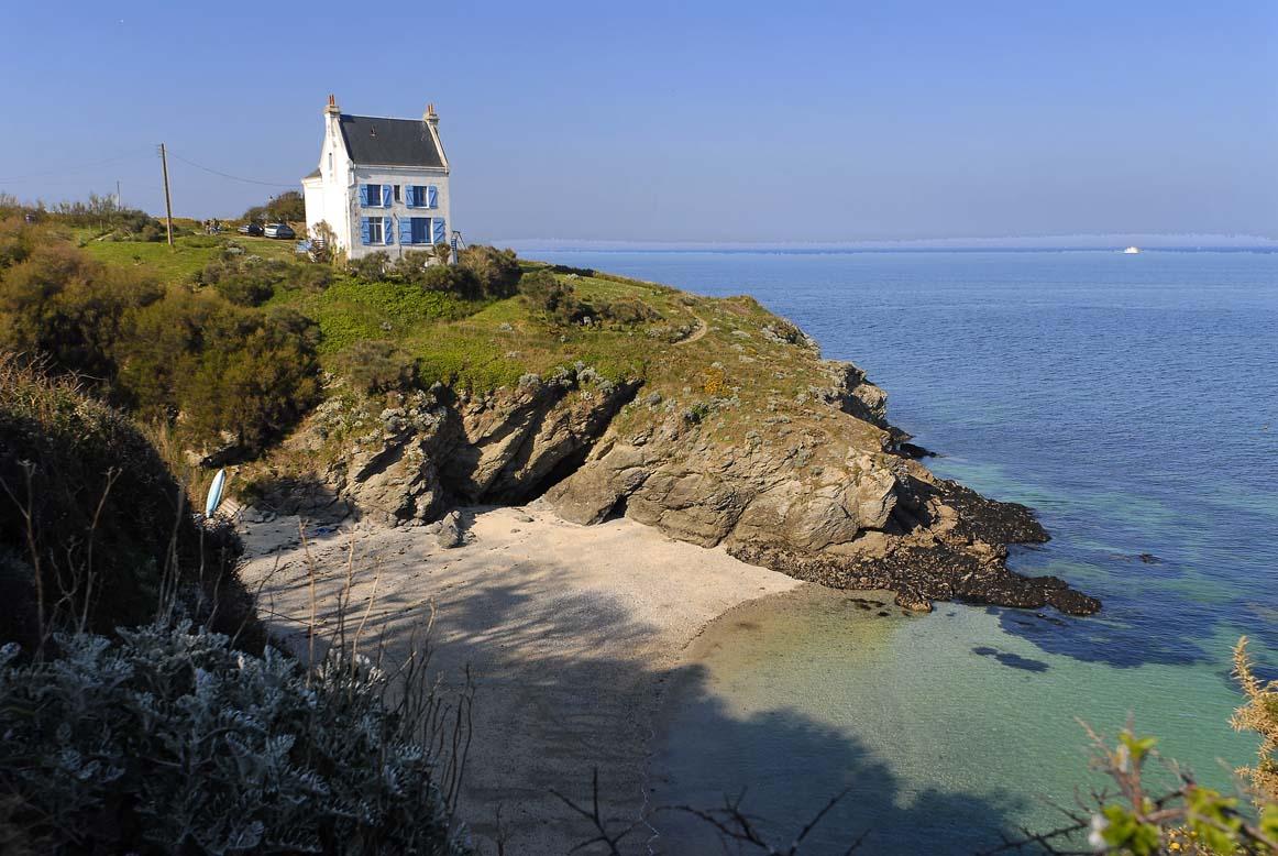 Villa de jade cern e par la mer vue imprenable le palais for Chambre d hotes belle ile en mer