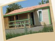 Location gîte, chambres d'hotes CHALET 5 à 7 personnes dans un camping 4 étoiles (****) proche de Vallon-Pont-d'Arc en Ardèche méridionale dans le département Ardèche 7