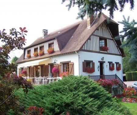 chambres d 39 hotes le pre boulard au coeur du pays annebault. Black Bedroom Furniture Sets. Home Design Ideas