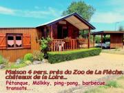 Location gîte, chambres d'hotes Location 4 (à 6) pers. près du Zoo de La Flèche dans le département Sarthe 72