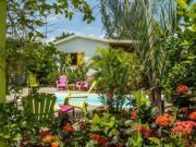 Location gîte, chambres d'hotes Coco Bungalows près de Sainte-Rose, à proximité immédiate mer des Caraîbes dans le département Guadeloupe 971