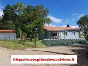 Location gîte, chambres d'hotes GITE CDE FRANCE 23G1466, bord lac de Vassivière dans le département Creuse 23