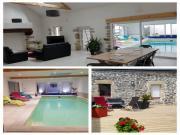 Location gîte, chambres d'hotes Gite avec piscine,spa et sauna, proche QUIMPER dans le département Finistère 29
