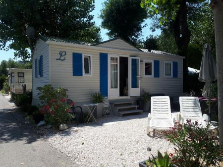 Location de particuliers à particuliers MOBIL HOME CLIMATISE 4/5PERS-200M MER à ANTIBES MARINELAND Camping / Mobile-home Alpes maritimes
