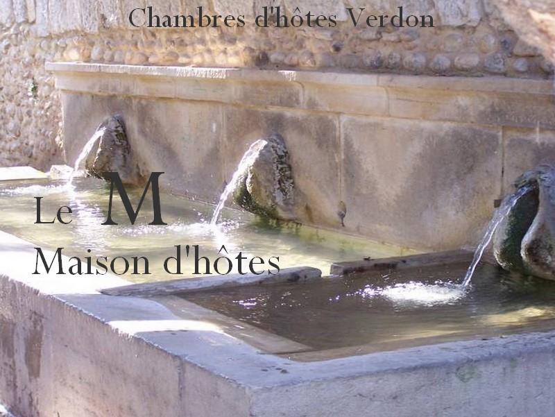Chambres DHtes Verdon Provence  Riez