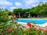 Location gîte, chambres d'hotes Location de Maison de vacances 5 chambres avec piscine privée en campagne  dans le département Vaucluse 84
