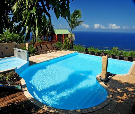 le latanier vert charme et confort piscine piton saint leu. Black Bedroom Furniture Sets. Home Design Ideas