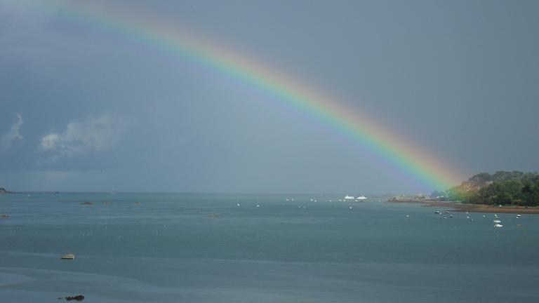Chambre vue mer et ile de br hat loguivy de la mer - Chambres d hotes baie de somme vue sur mer ...